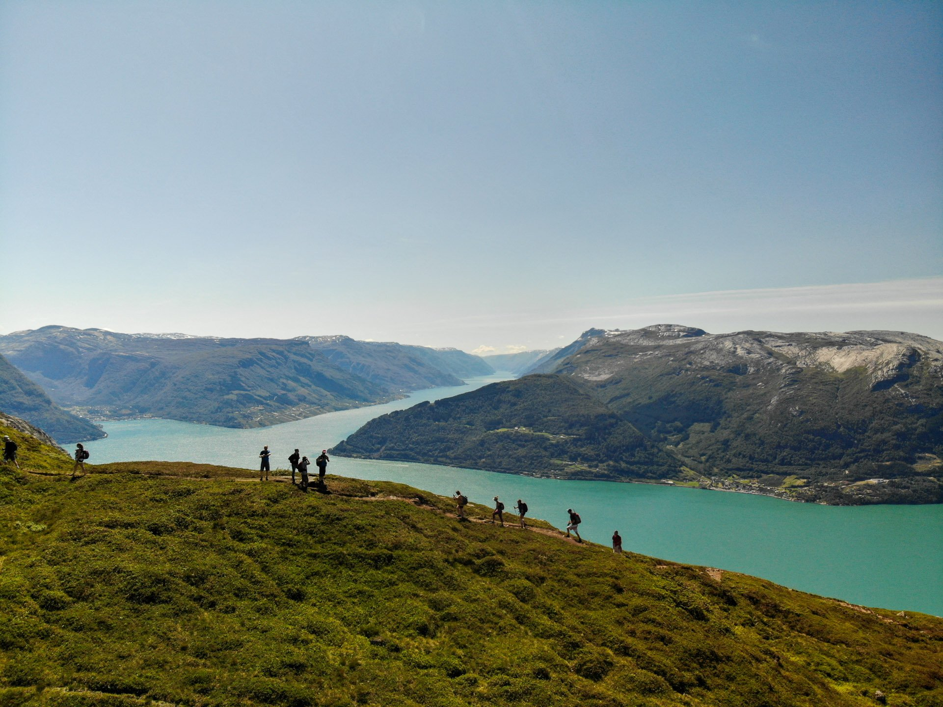 Fjord hikes in Norway