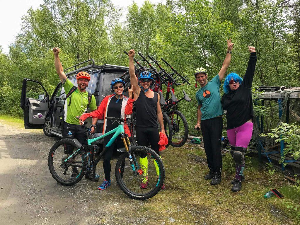mountain bike course