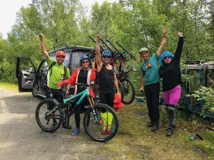 Bicicleta de montaña Voss Forest Outdoor Norway 1