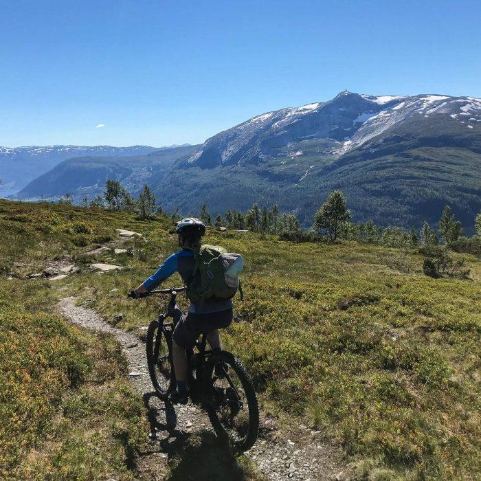Mountain BikIng In Norway