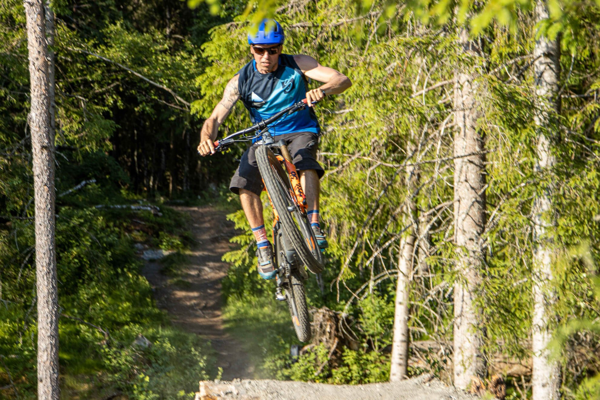 Mountain Biking The Great Hill Outdoor Norway