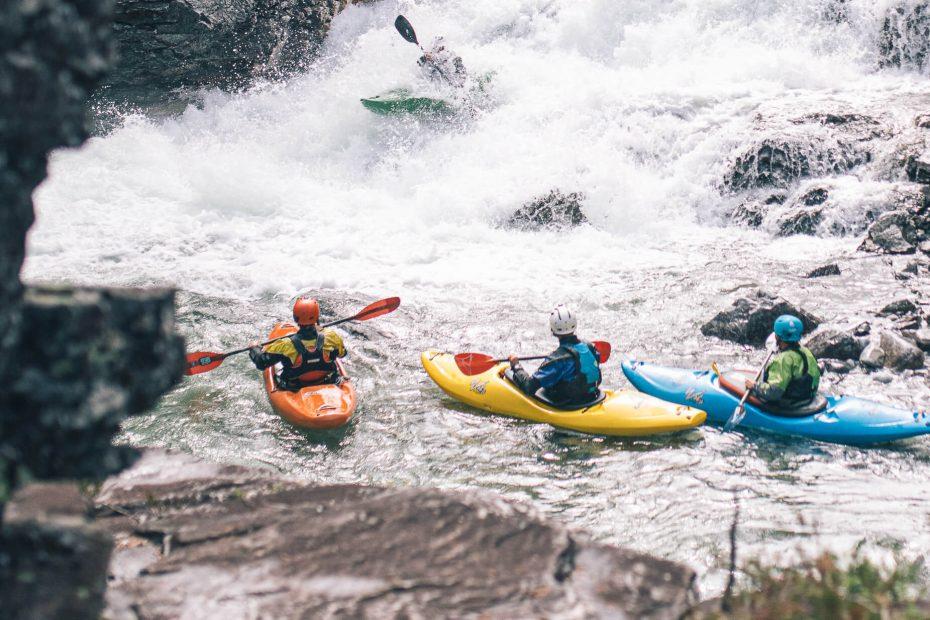 River Kayak Grade II Voss 18
