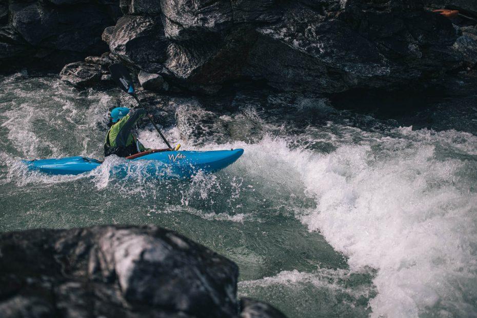 River Kayak Grade II Voss 33