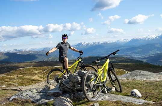 e-mountain bike Verleih