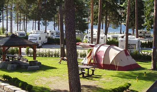 camping area voss