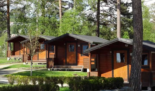 hytte voss camping
