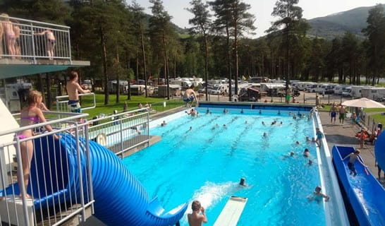 pool voss camping