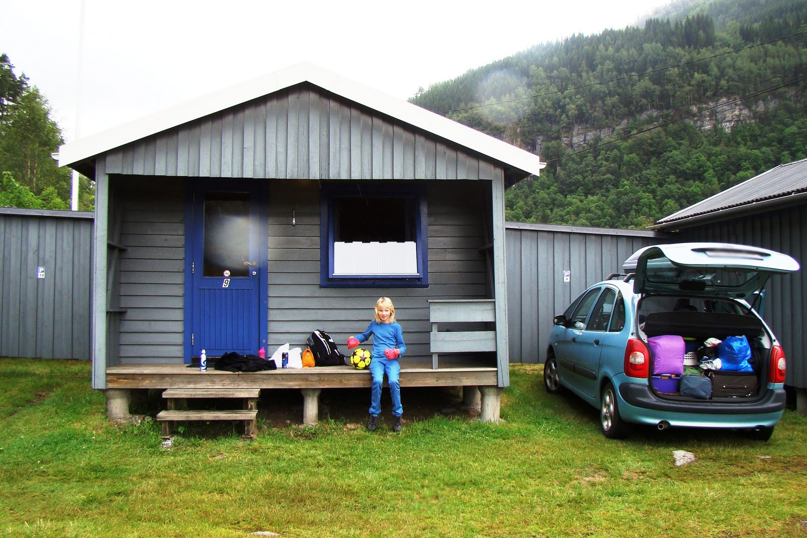 hytte camping