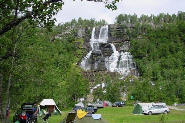 tvindefossen camping