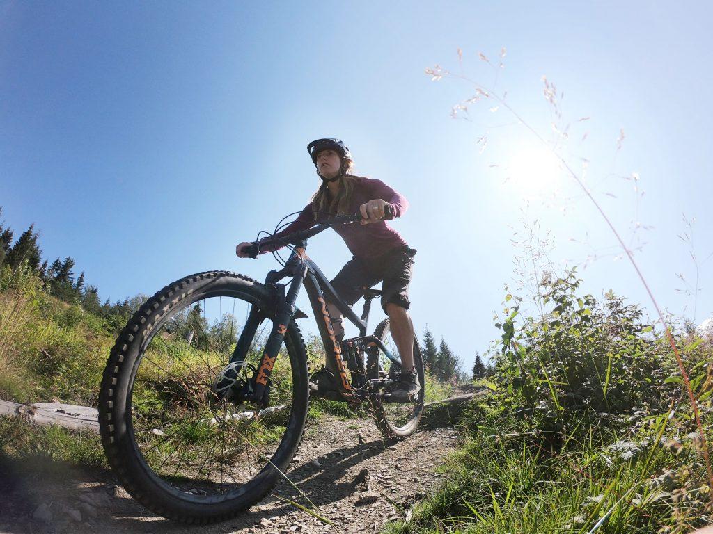 ladies mountrain bike course