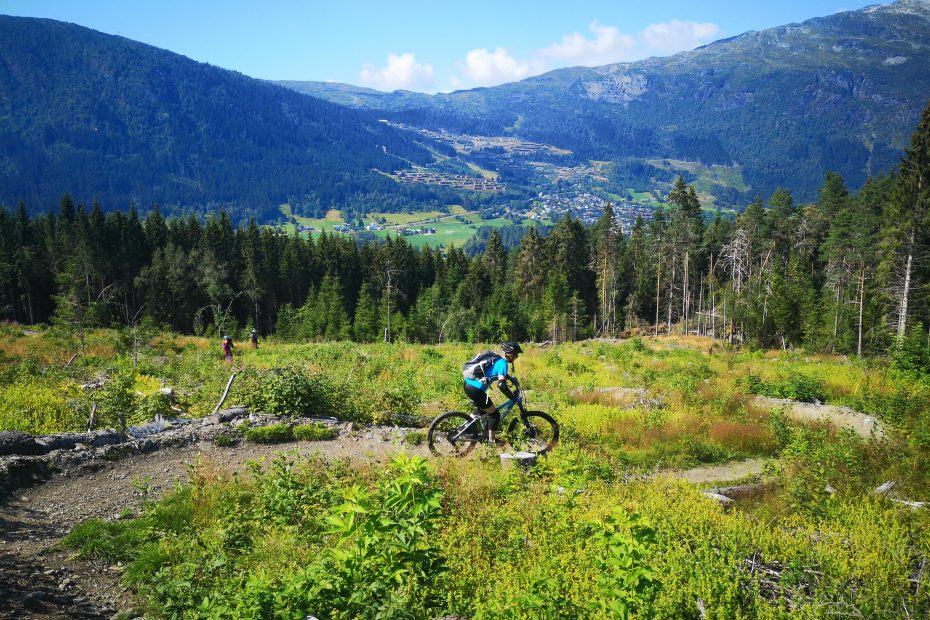 Mountain bike tour in Voss