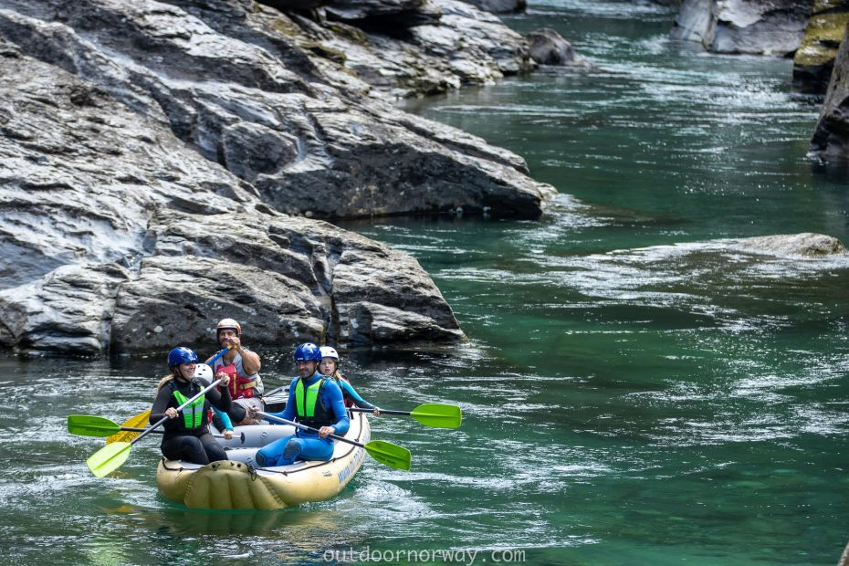syksyn loma rafting norjassa