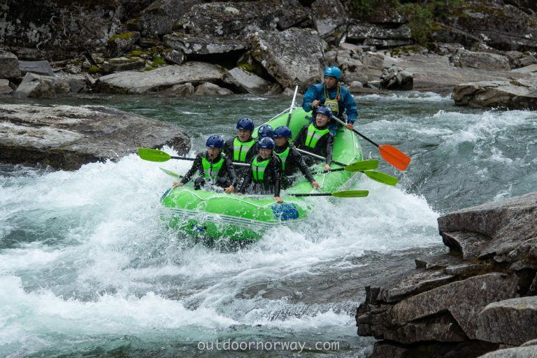 River Rafting in Voss during Autumn Holidays